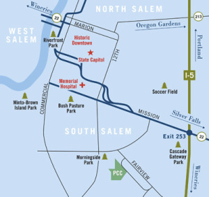 pcc salem area map
